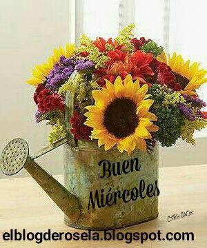 Que sea un día lleno de mucho amor, paz y bendiciones ... Un buen miércoles para todos   CACG.  www.facebook.com/ elblogderosela...