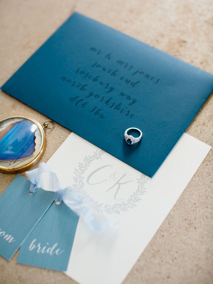 Photography: WOOKIE Photography - wookiephotography.com Stationery: Kate Ruth Romey - www.kateruthromey.co.uk   Read More on SMP: http://www.stylemepretty.com/destination-weddings/2015/09/28/classic-elegant-english-estate-wedding-inspiration/
