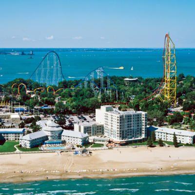 Cedar Point! Sandusky Ohio    The rollercoaster Capital in the world!