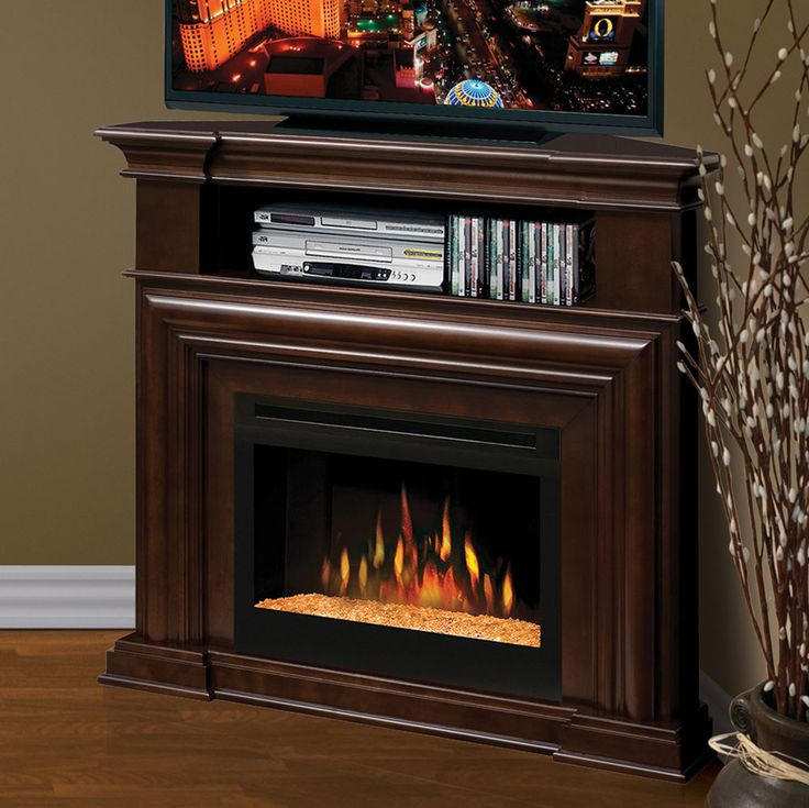 Electric Fireplace corner electric fireplace media center : 12 best images about Corner Electric Fireplaces on Pinterest