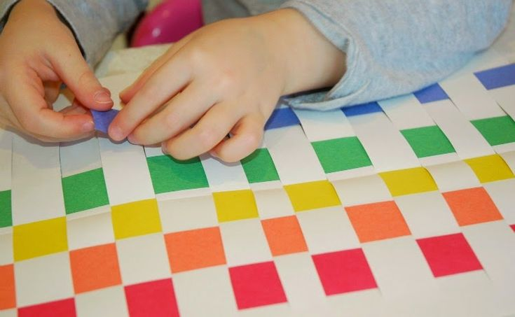 Rainbow Paper Weaving | Cutting Tiny Bites