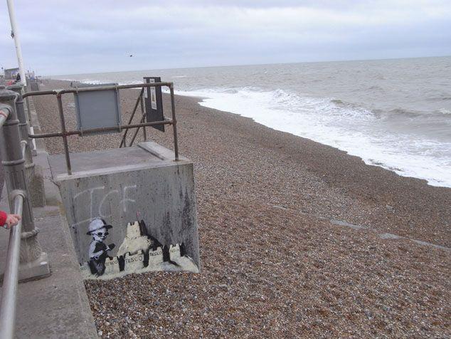 Banksy at Hastings