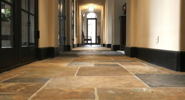Good tile color for model home w dark baseboards for Baseboards doors and more