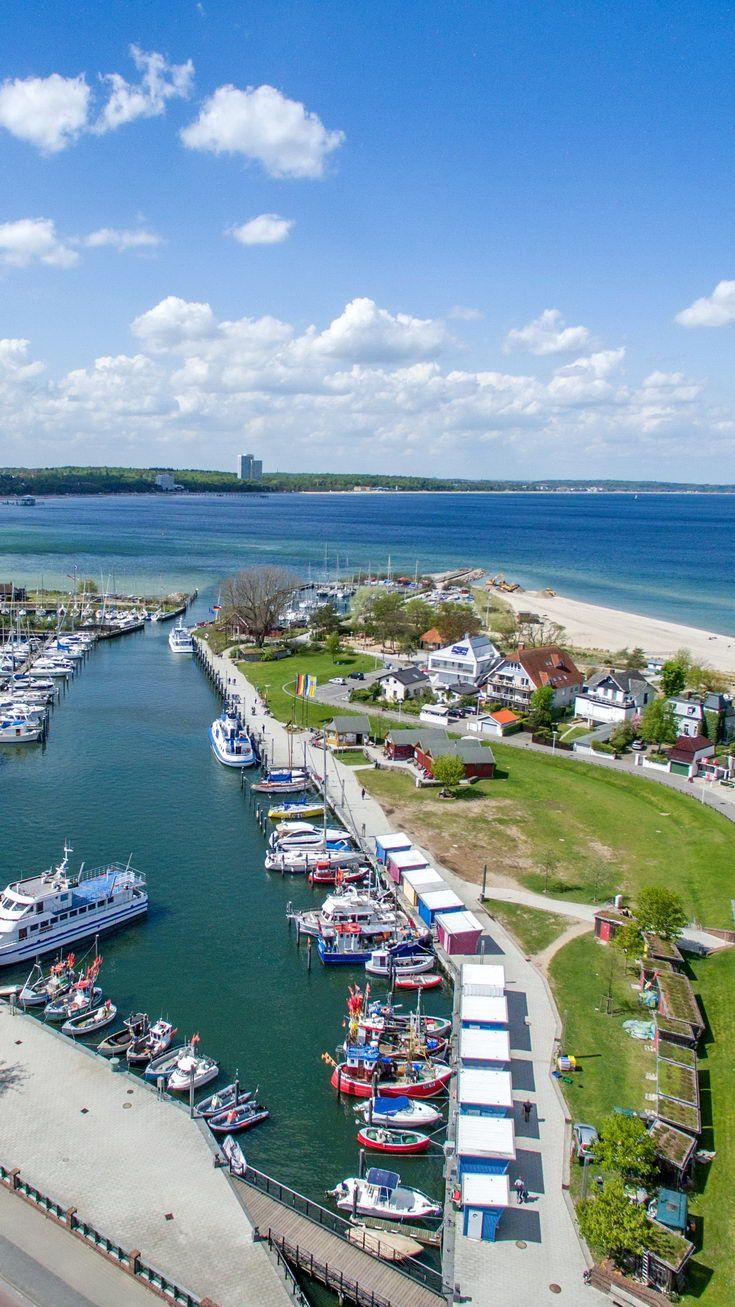 Hafen Mit Fischkuttern Ostsee Urlaub Urlaub Ostsee