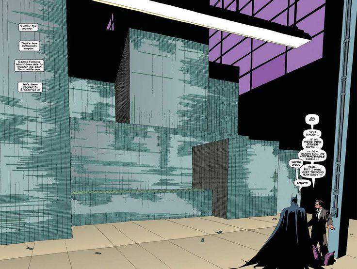 batman-the-long-halloween-warehouse-money.jpg (1964×1504) | Mood ...