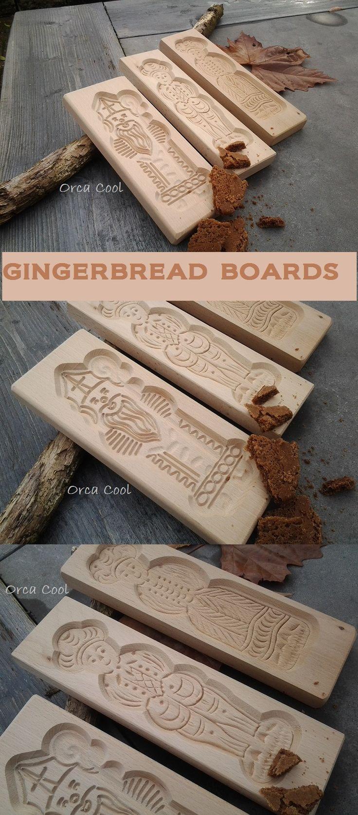 Gingerbread Board - Speculaasplanken  #Bakeware  OrcaCool