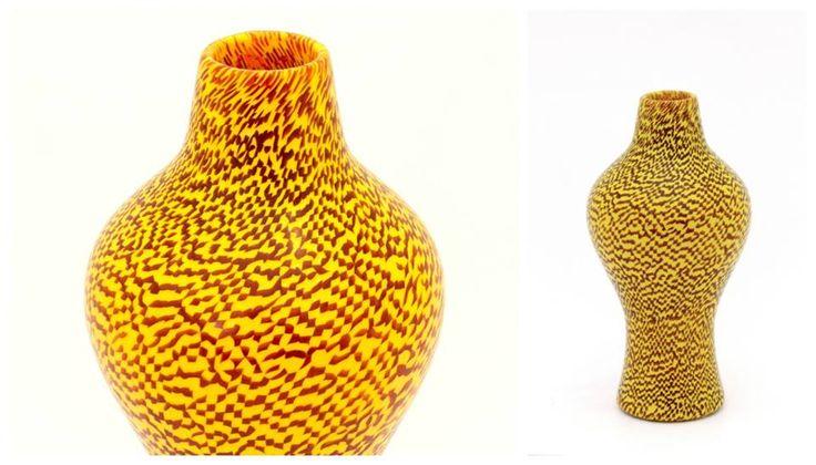 VASO A MURRINE Paolo Venini V E N I N I 1953 H cm 24.5 circa Acid signature: Venini Murano Italia Photo credits: Armando Fettolini #Vase #Murano #Venini #Murrine