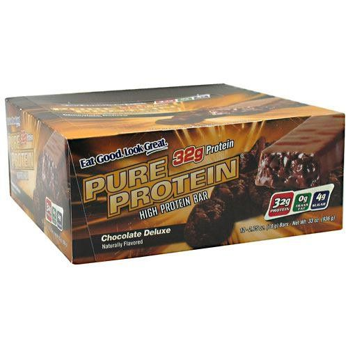 nice Worldwide Sports Nutrition Pure Protein Bar Chocolate Deluxe -- 12 Bars
