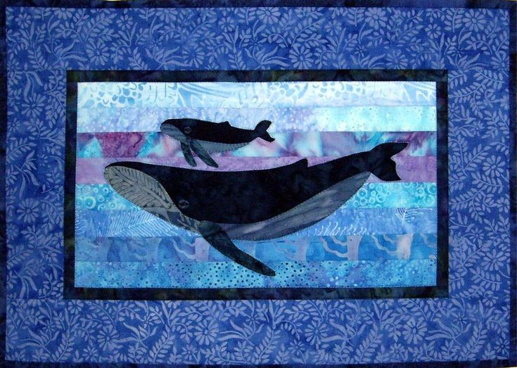 Humpback Whales Quilt Pattern Quilting Quilt Patterns