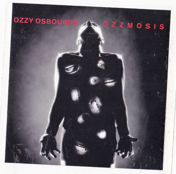 Ozzy Osbourne Band Sticker Album Cover Art Metal Music