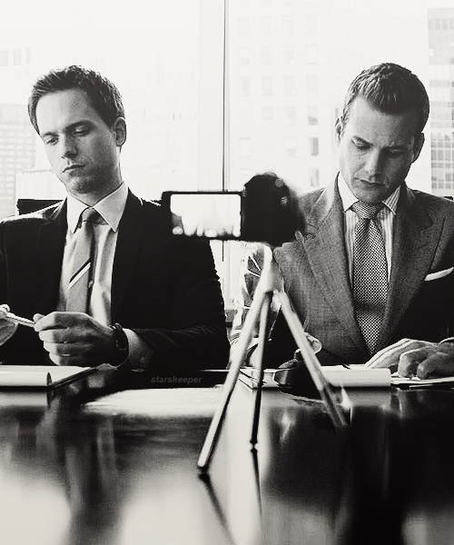 Harvey & Mike #suits