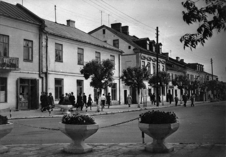 Biała Podlaska, Plac Wolności, 1960 - 1970 r.