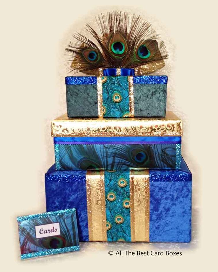 178 best ebay wedding items images on pinterest wedding card boxes peacock wedding card boxbluegreengoldfabricslot for cards junglespirit Image collections