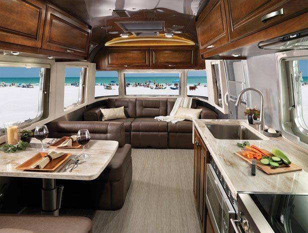 Awesome Best 25+ Airstream Interior Ideas On Pinterest | Camper Interior, Airstream  And Caravan