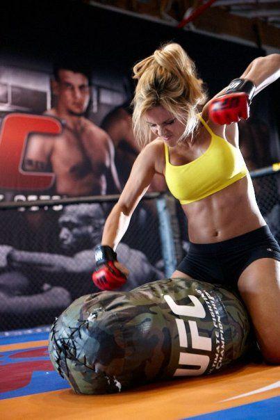 punch bag cardio training
