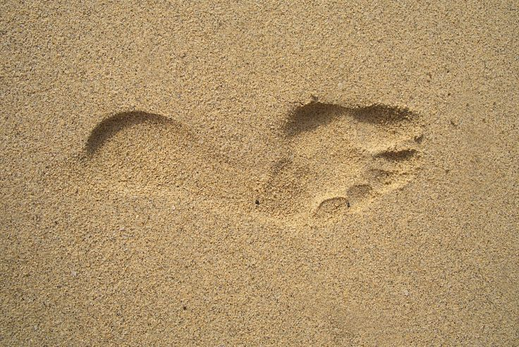 A Soft Tread in Soft Sand>   <figcaption><i>A Soft Tread in Soft Sand <b>Source:</b> Pixabay.com</i></figcaption> </figure>  <p>At first, skelter, pell-mell plunge of foot.<br /> Sinking into ooze, splattering mud about.<br /> Heavy foot - surging, clambering, wanting climax and fruition.<br /> Leaving a footprint trail, bogged in mud.<br /> A legacy of heavy haste.</p>  <p>Tread softly now the rush has quelled.<br /> With steps more measured, gait of purpose.<br /> With no footprints left…