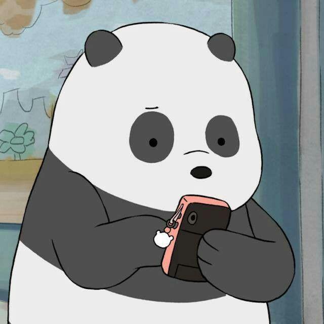I'm like Panda you know We Bare Bears