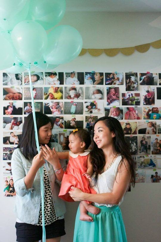Easy Party Decor Idea: ​Make a Photo Wall for Under $25
