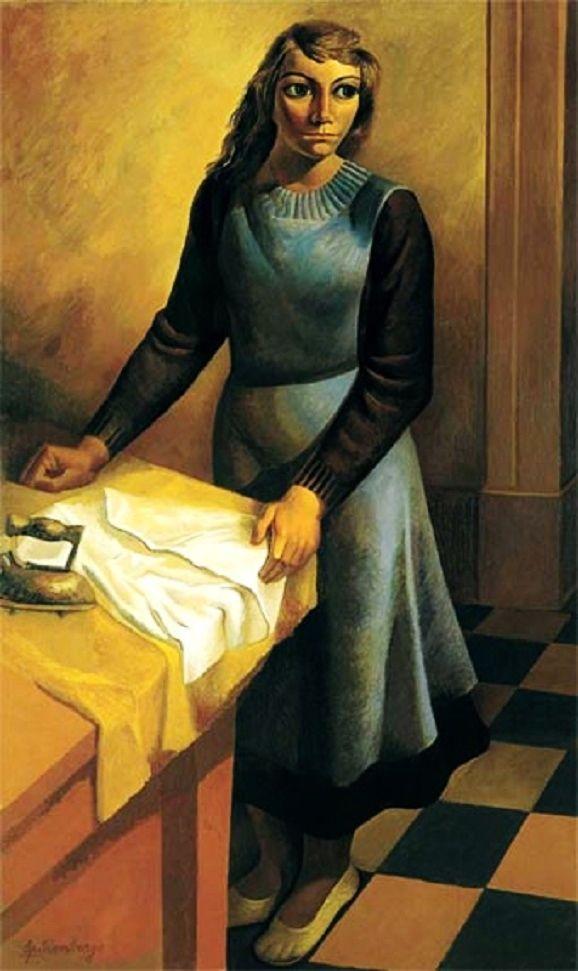 La planchadora (1936) Lino Enea Spilimbergo