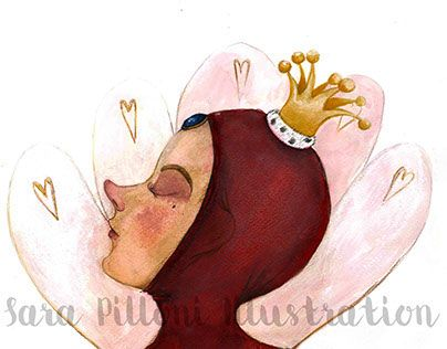 """Check out new work on my @Behance portfolio: """"the Reluctant Princess"""" http://on.be.net/1iLY0JH"""