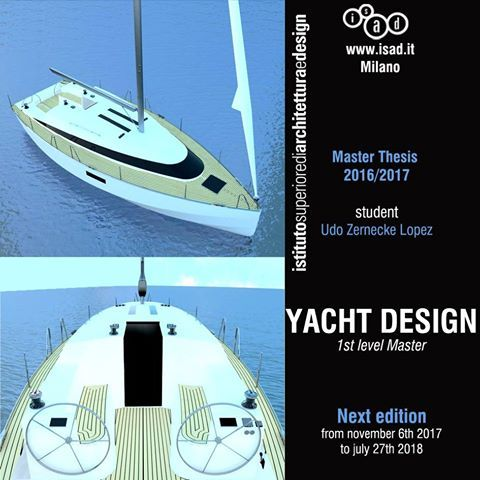 Do not hesitate to contact us if you want more information about the Master in Yacht Design: isad@isad.it