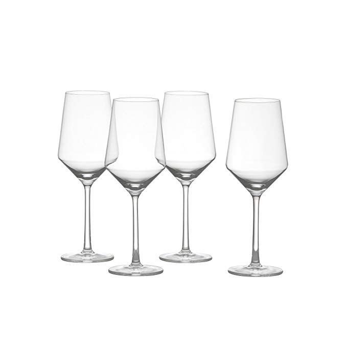 Schott Zwiesel Tritan Crystal Glass Pure Stemware Collection Sauvignon Blanc Wine Glass 13 8 Ounce Set Of 4 Scho Schott Zwiesel Red Wine Glasses Wine Glass Schott zwiesel tritan crystal glass