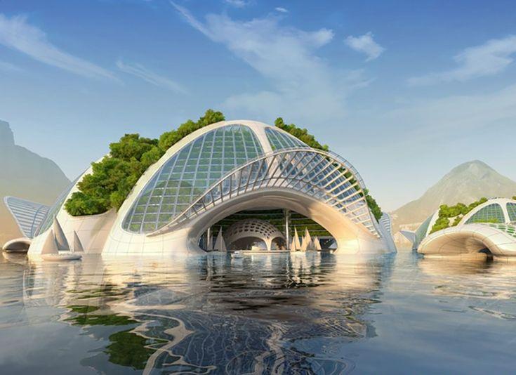 Les 25 meilleures id es concernant arcologie sur pinterest for Architecture futuriste ecologique