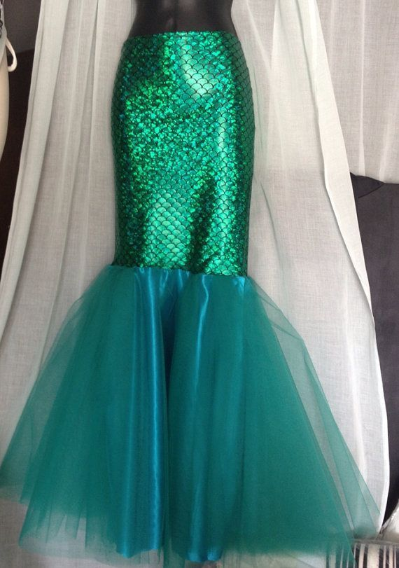 Diy Mermaid Tail Costume Mermaid princess adult mermaid