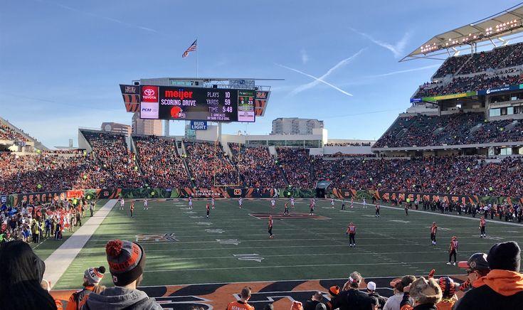Paul Brown Stadium... Browns vs. Bengals ...2017