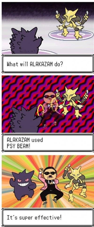 Alakazam Used Psy Beam! - Imgur