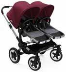 Bugaboo Zwillingswagen als 6 in 1 Set ab der Geburt ♥ Bugaboo Donkey 2 Twin mit Babywannen und Sitze ✓ Schnelle Lieferung ✓ Kauf auf Rechnung