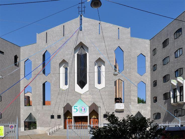 Chiesa di San Francesco d'Assisi al Fopponino - Gio Ponti - itinerari - Ordine degli architetti, P.P.C della provincia di Milano