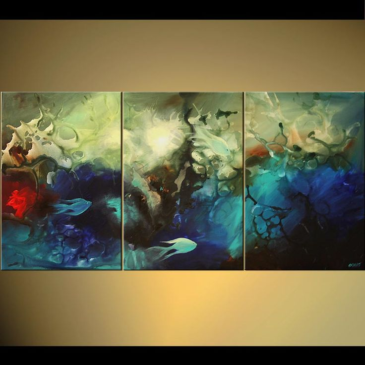 51 best artist osnat tzadok images on pinterest for Creative abstract painting