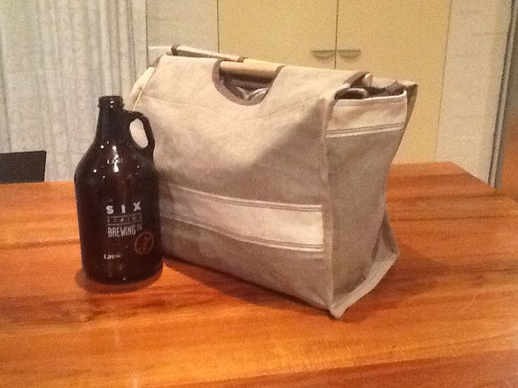 Brewers bag:  made for Jack