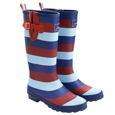 Help for Heroes Joules Wellies... the tri-colours of the 3 services.