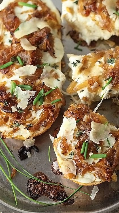 french onion cheese bread...