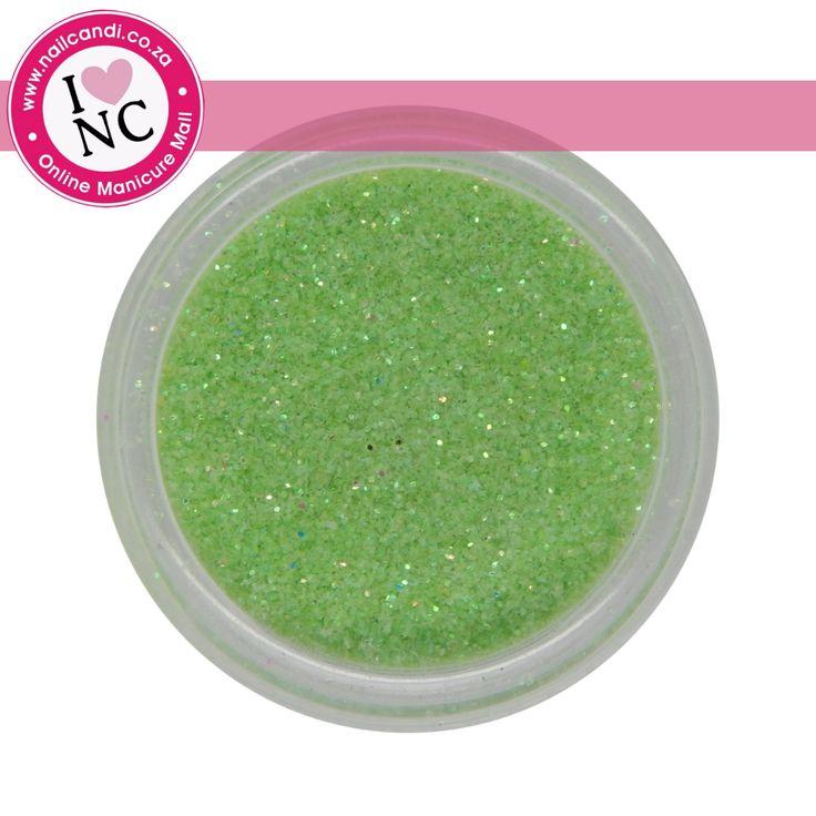 Nail art glitter - Green