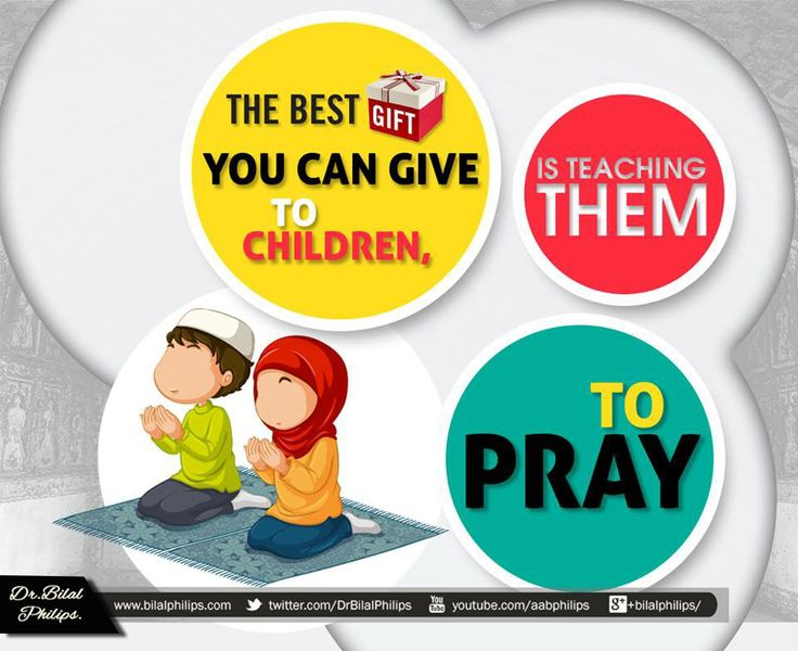the best gift you can give to children is teach them to pray