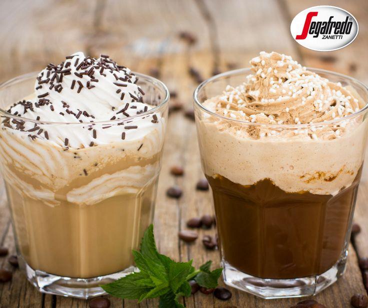 Na jesienne wieczory polecamy napój na bazie czekolady i aromatycznego espresso. Mowa o chocolate mocha. Dziś prezentujemy jej dwa warianty- na bazie białej czekolady oraz na bazie rozpuszczalnej czekolady HOT CIOK.  Aby przygotować ten słodki napój wystarczy podgrzać mleko, dodać do niego kostki białej czekolady lub saszetkę czekolady HOT CIOK, następnie dodać espresso i całość przyozdobić bitą śmietaną.#Segafredo #kawainaczej #kawadeserowa #mocha #czekolada #hotciok #sweet