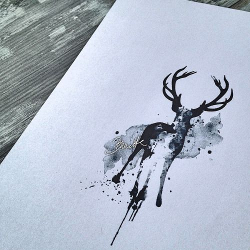 25 Best Ideas About Deer Tattoo On Pinterest Reindeer Tattoo Larry Tattoos And Antler