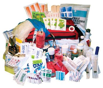 Horse Trailering First-Aid Kit only $130 for a small kit!!
