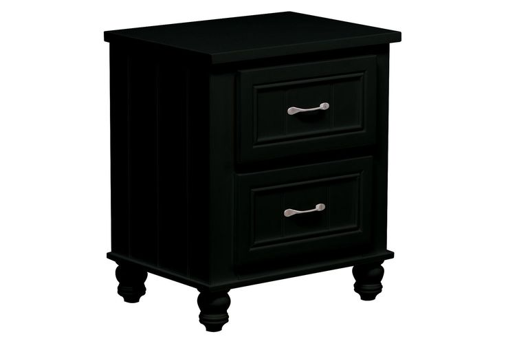 Kendall Black Nightstand