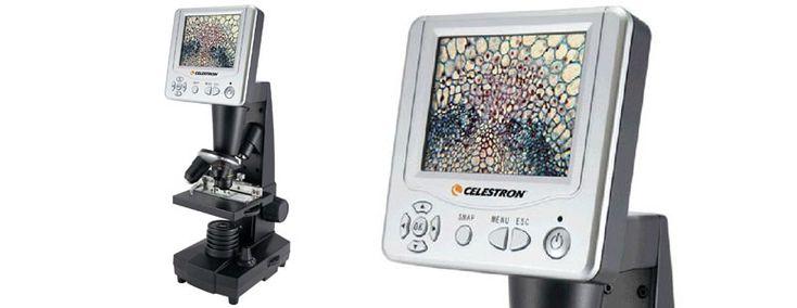 Celestron LCD Digital Microscope and Digital Camera