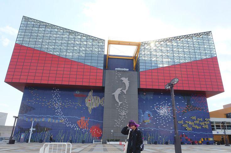 Big Dreamer: Japan Guide: Osaka Aquarium Kaiyukan // Tempozan F...