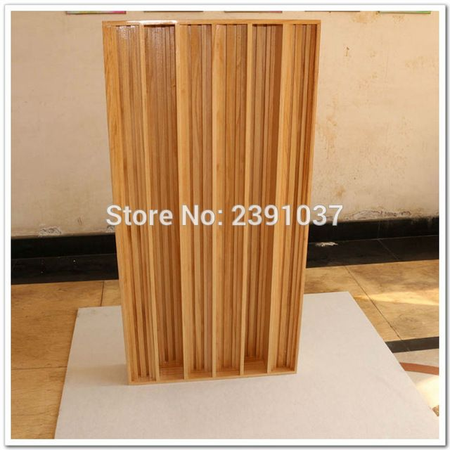 High Quality 1piece Wood QRD Diffusion Acoustic Panel Sound Diffuser Skyline Panel treatment absorption panel Big size120x60cm