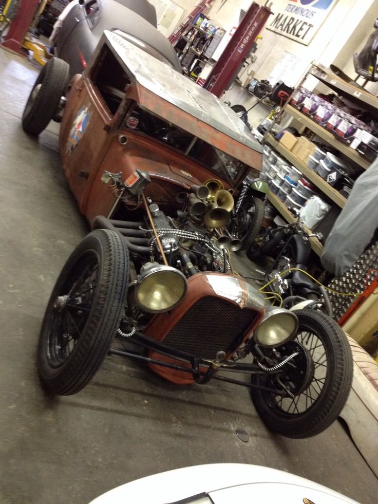1927 Dodge Coupe Rat Rod Quot October Moon Quot Rat Runners
