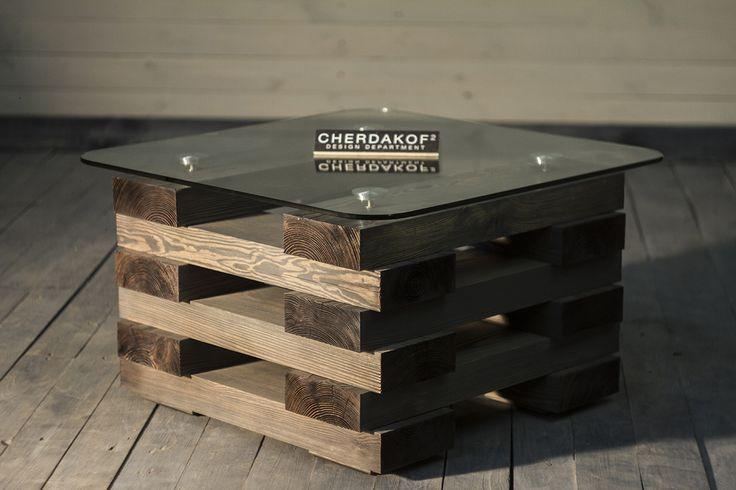 Журнальний столик колодязь | Конструкторское бюро Cherdakoff