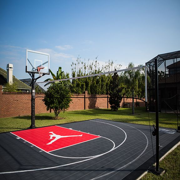 Best 25 backyard basketball court ideas on pinterest for Sport court utah