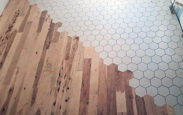 Top 70 Best Tile To Wood Floor Transition Ideas Flooring Designs Ideen Bodenbelag Holzfliesen Bodengestaltung
