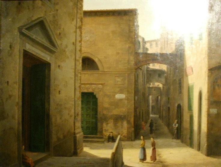 Fabio Borbottoni, 1820-1902, chiesa di sant'andrea